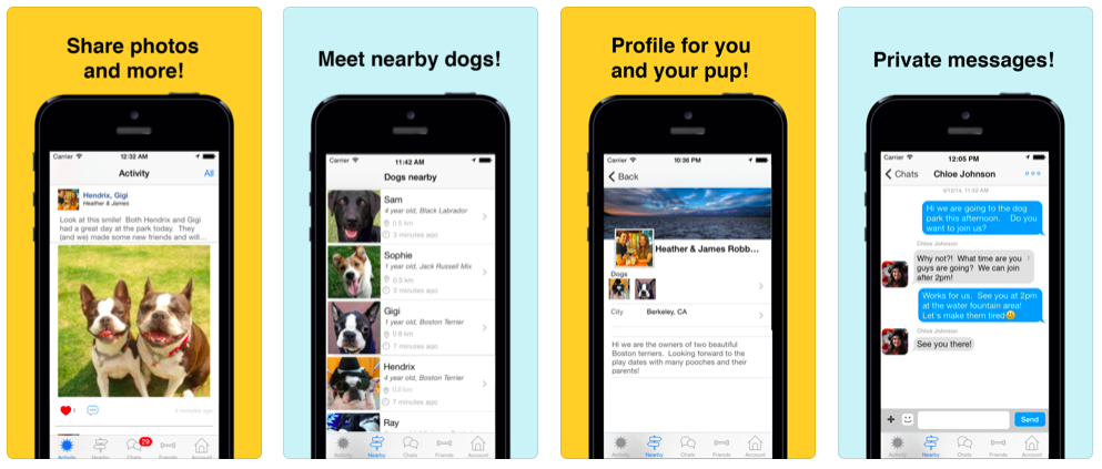 Screenshot - Meet My Dog iPhone App